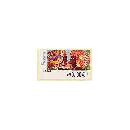ESPAÑA. LF 10245. 118. Meléndez: Africanas II. ATM nuevo (0,30)