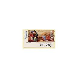 ESPAÑA. LF 10119. 129. Fomin: Los bombones y ... ATM nuevo (0,29