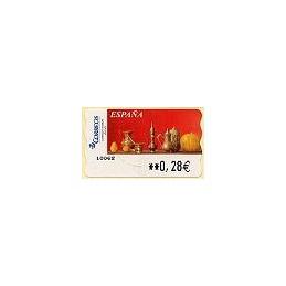 ESPAÑA. LF 10220. 107. Sammer Gallery. Red Life (1). ATM (0,28)