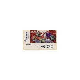 ESPAÑA. LF 10217. 90. Sammer G. Bodegón Tulipanes. ATM (0,27)