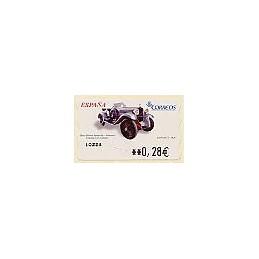 ESPAÑA. LF 10224. 102. Donosti. ATM nuevo (0,28)