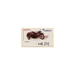 ESPAÑA. LF 10183. 96. DKW con sidecar. ATM nuevo (0,27)
