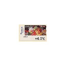 ESPAÑA. LF 10100. 95. Sammer G. Frutas. ATM nuevo (0,27)
