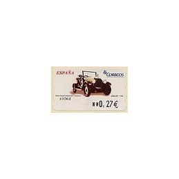 ESPAÑA. LF 10192. 100. Berliet. ATM nuevo (0,27)