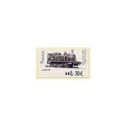 ESPAÑA. LF 10072. 117. Locomotora 1887. ATM nuevo (0,30)