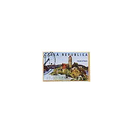 REP. CHECA (2002). Castillo de Zvikov. ATM usado