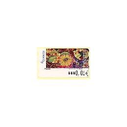 ESPAÑA. 119. Meléndez: Frutas & Girasol. 6E. ATM nuevo (0,01)