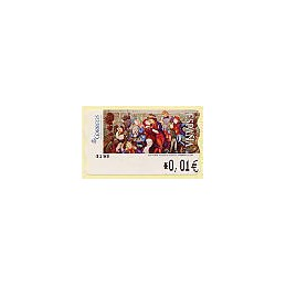 ESPAÑA. 127. Adelaida Fantasiosa. 4E. ATM nuevo (0,01)