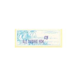 N. Caledonia (2003). NLLE CALEDONIE 98341 - violeta. ATM nuevo