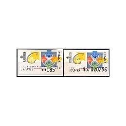 ESPAÑA. 31S. Calidad postal. Etiq. control PTS-A (No.) + sello