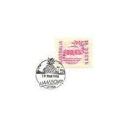 AUSTRALIA (1995). Warath - N&D.S.C. 95. Sobre 1r. día (2)