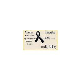 ESPAÑA. 105. 11-M. 5A. ATM nuevo (0,01)
