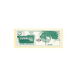 LUXEMBURGO (1998). JUVALUX 98. ATM nuevo ( 8)