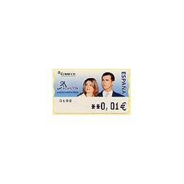 ESPAÑA. 108. España 2004. 5A. ATM nuevo (0,01)