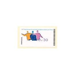 PORTUGAL (2007). Oportunidades - Amiel Azul. ATM nuevo