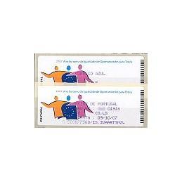 PORTUGAL (2007). Oportunidades. Crouzet Az.-CA. ATM + rec.
