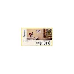 ESPAÑA. 112. J. Carrero. Carta desde ... 5A. ATM nuevo (0,01)