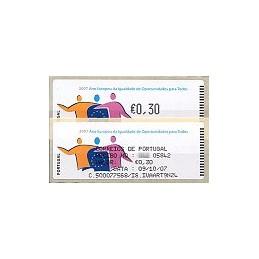 PORTUGAL (2007). Oportunidades - Crouzet n. ATM + rec. (1)