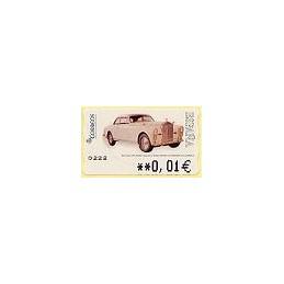 ESPAÑA. 113. Rolls Royce 1947. 5A. ATM nuevo (0,01)