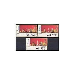 ESPAÑA. 109. Red Life (2). Sammer Gallery. 5A. Serie 3 val.