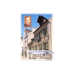 FRANCE (2007). Timbres Passion - Dole. Tarjeta máxima (1)