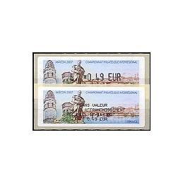 FRANCE (2007). Mâcon 2007. ATM nuevo + rec.
