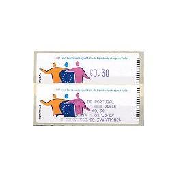 PORTUGAL (2007). Oportunidades - Crouzet Az. ATM + rec.