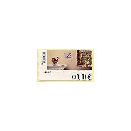 ESPAÑA. 112. J. Carrero. Carta desde ... 5E. ATM nuevo (0,01)