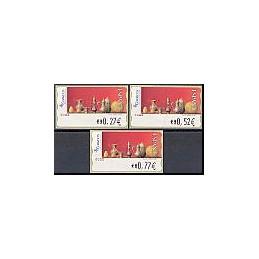 ESPAÑA. 109. Red Life (2). Sammer Gallery. 5E. Serie 3 val.
