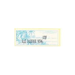 N. Caledonia (2003). NLLE CALEDONIE 98346 - negro. ATM nuevo