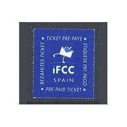 ESPAÑA (1999). IFCC Spain (5). Sello nuevo