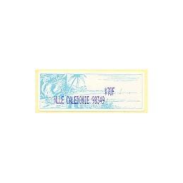 N. Caledonia (2003). NLLE CALEDONIE 98349 - violeta. ATM nuevo