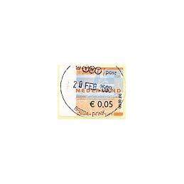 HOLANDA (2008). TNT post - TNT00100. ATM, 1r. día (0,05)
