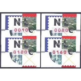 HOLANDA (1997). Nagler - Rotterdam. Serie 4 val., nº