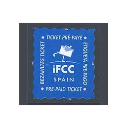 ESPAÑA (1999). IFCC Spain (4). Sello nuevo