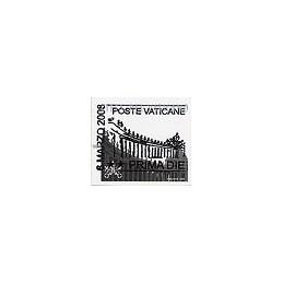 VATICANO (2008). Basílica y columnata (1). ATM (0,60), matasello