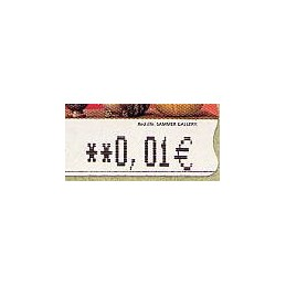 ESPAÑA. 109a. Red Life (2) - variante. 5E. ATM nuevo (0,01)