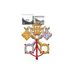 VATICANO (2008). Basílica y columnata (2). Tarjeta máxima (2)