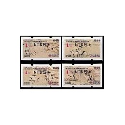 TAIWÁN. TAIPEI 2005. VarioSyST 2-negro. ATMs nuevos (040)