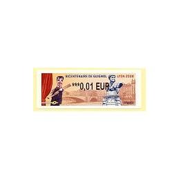 FRANCE (2008). Bicent. Guignol - Lyon. ATM nuevo (0,01)