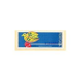 PORTUGAL (1996). Passarinho (1). ATM nuevo (10$00)
