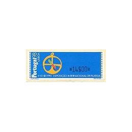 PORTUGAL (1997). PORTUGAL 98 - Monetel. ATM nuevo (14$00)