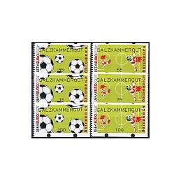 AUSTRIA (2008). SALZKAMMERGUT (UEFA EURO). Series 3 v. (nac.)
