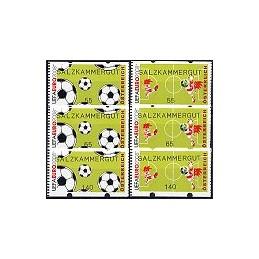 AUSTRIA (2008). SALZKAMMERGUT (UEFA EURO). Series 3 val.