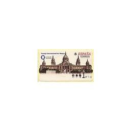 ESPAÑA. 53. ICOM 2001. Barcelona. PTS-4CB. ATM nuevo (1 PTS)