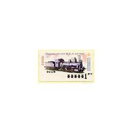 ESPAÑA. 55. Locomotora 030, 2577 - MZA. PTS-6A. ATM nuevo (1 PTS