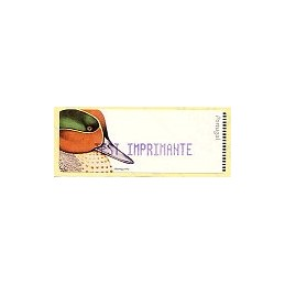 PORTUGAL (2000). Marrequinho - Azul. Etiqueta TEST