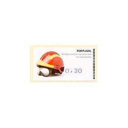 PORTUGAL (2008). Bombeiros - Amiel Azul. ATM nuevo (0,30)