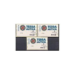 ESPAÑA. 49. Terra Mitica. PTS-5E. Serie 3 val. (2)