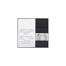 ESPAÑA. 8.1. XACOBEO 93 - 3 d. negro. ATM nuevo (18) + r. (005)